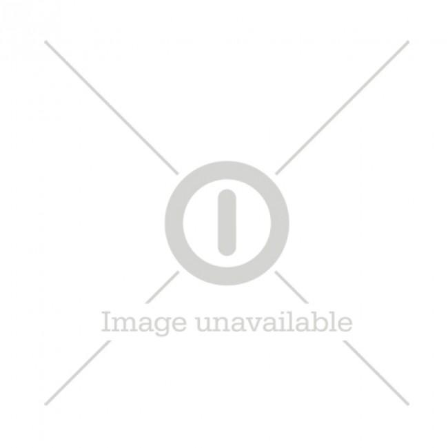 Metal floor display - 2 row, green
